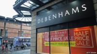 Debenhams: 'Mike Ashley saw an opportunity' - BBC News