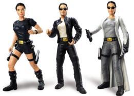 Figuras de Lara Croft.