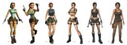Evolución de Lara Croft