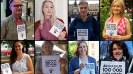 Swedish people who have pledged not to fly