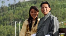 Wangda Dorje and Tshering Choden