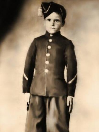 Menino soldado argentino