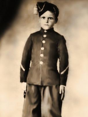 Niño soldado argentino