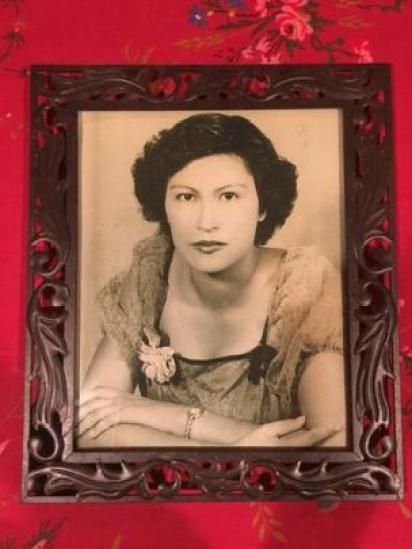 Retrato de Francisca Carmona García