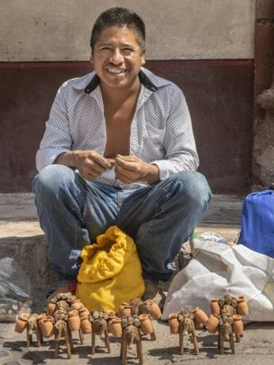 Mexican artisan man