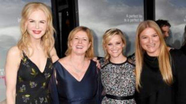 Nicole Kidman, Liane Moriarty, Reese Witherspoon and Bruna Papandrea
