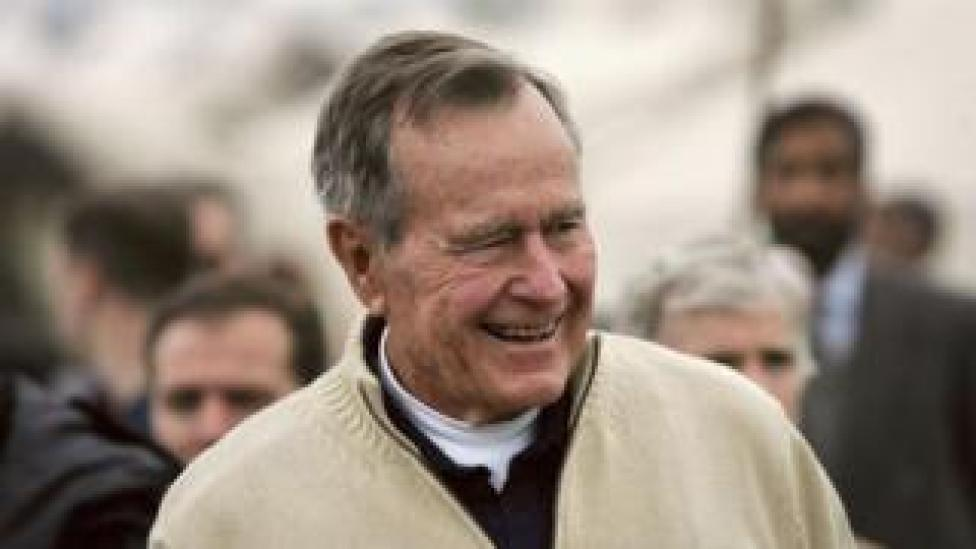 George HW Bush