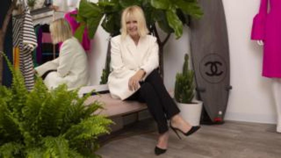 My Wardrobe HQ chair Jane Shepherdson