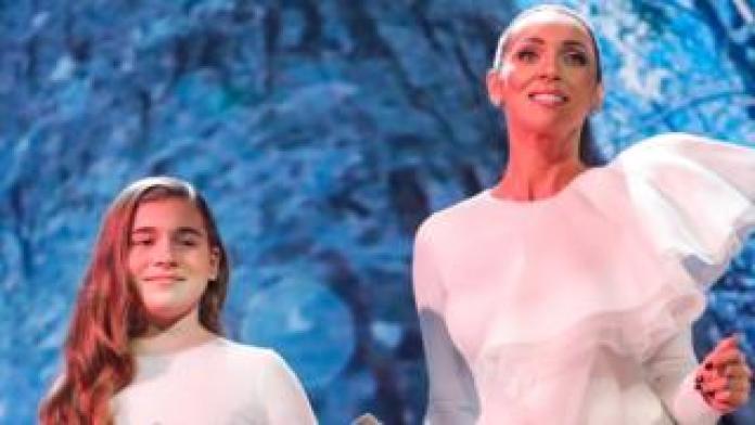 Mikella Abramova and Alsou, 11 Dec 18
