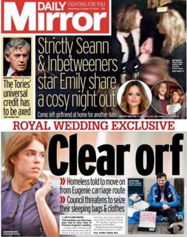 Daily Mirror - 10 October