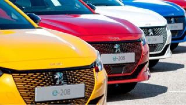 New Peugeot e-cars