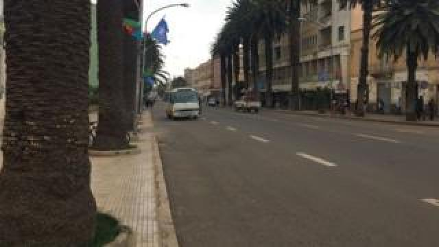 Liberty Avenue in Asmara, Eritrea pictured in August 2018