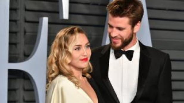 Singer Miley Cyrus and actor Liam Hemsworth have married, according to posts on their social media accounts