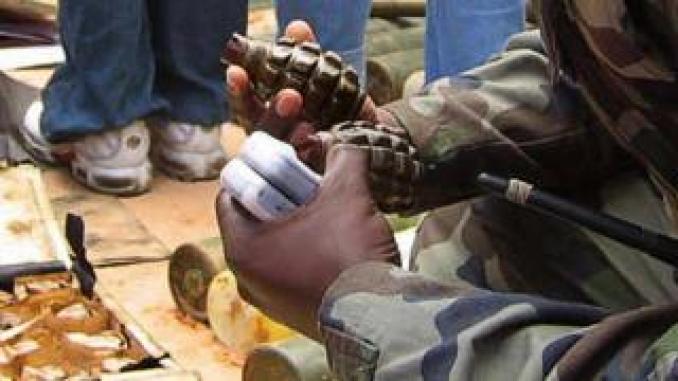 Grenades recovered in Somalia (file photo)