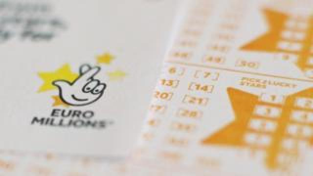 A Euromillions ticket