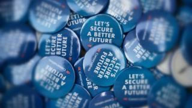 Tory Party badges