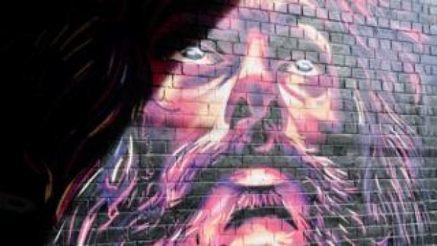 Street art by Justin Sola