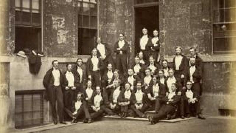 Bullingdon club in evening dress
