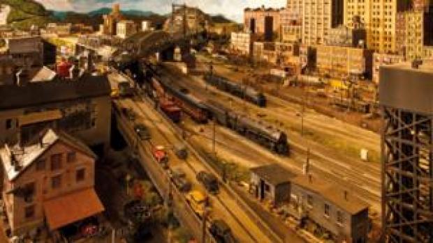 Rod Stewart model railway