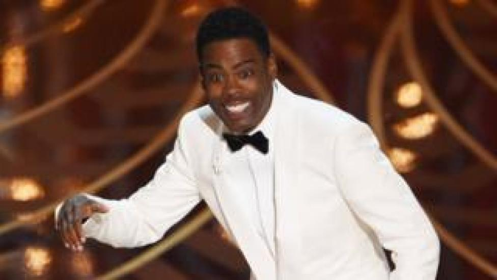 Chris Rock hosting the Oscars