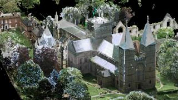 3D scan of Southwell Minster