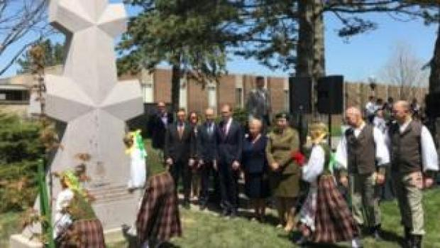 Monument in Chicago unveiled on 4 May in Chicago