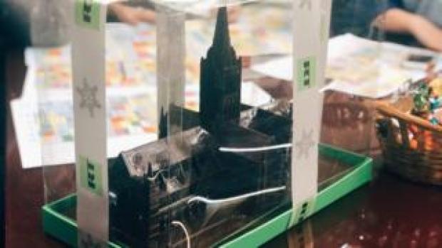 Salisbury Cathedral model