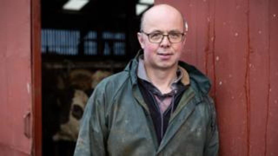 sport Farmer Alister Donaldson