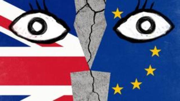 Brexit no deal illustration