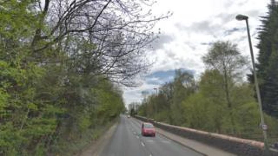 A4049 between Pengam and Aberbargoed