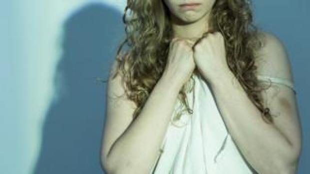 Woman in distress (file image)
