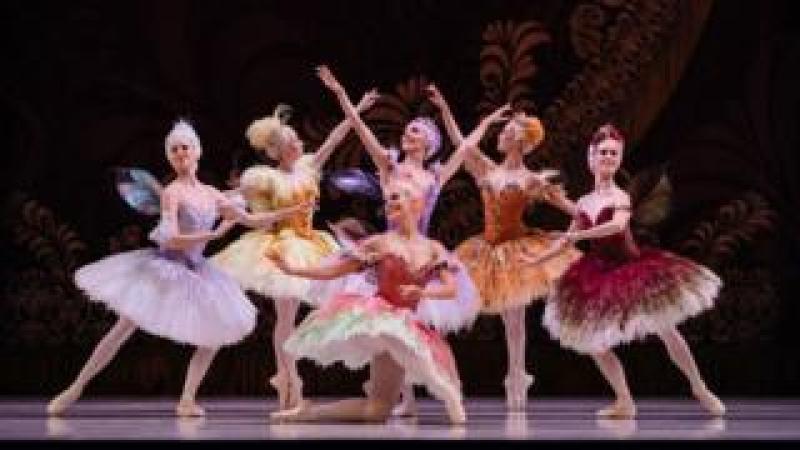 The Australian Ballet dancers performing Sleeping Beauty