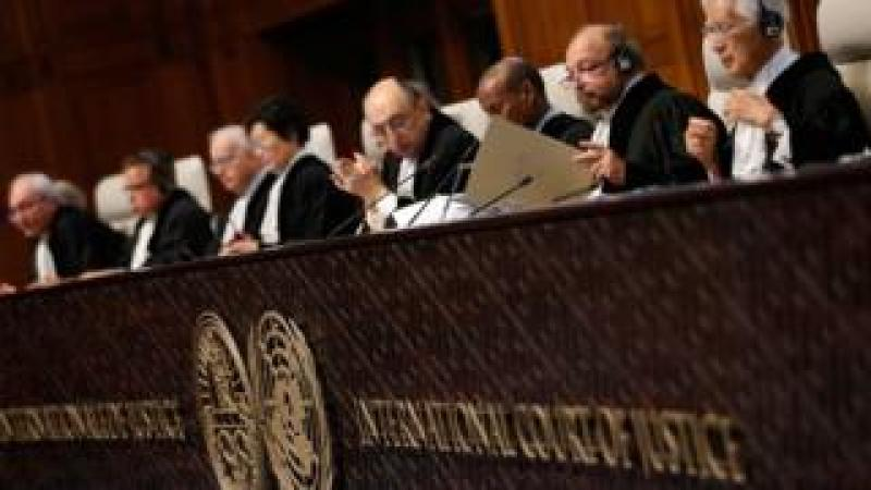 International Court of Justice sitting in the Hague on 16 December 2015
