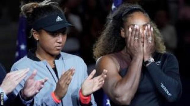 Serena Williams y Naomi Osaka
