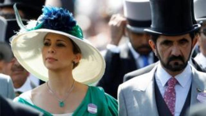 The Jordanian princess escaped to Britain a year ago with her two children