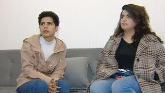 Saudi sisters Wafa and Maha al-Subaie interviewed in Georgia after fleeing their home country