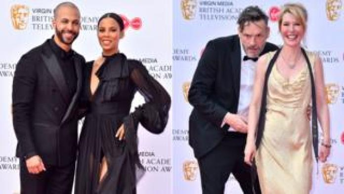 Marvin and Rochelle Humes; Julian Barratt and Julia Davis