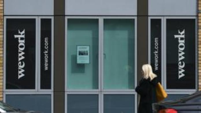 WeWork office in Dublin