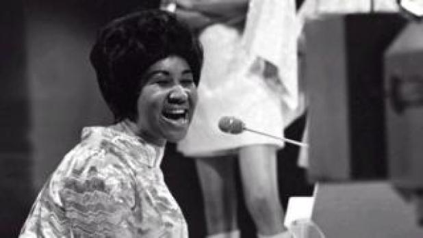 Aretha Franklin on Top of the Pops in the 1960s