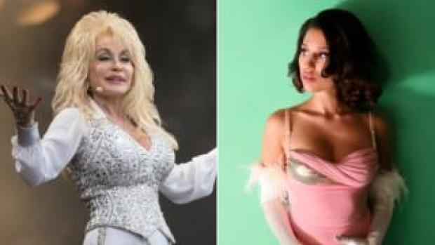 Dolly Parton and Raye