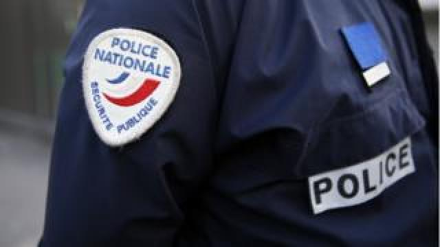 File picture of French police uniform