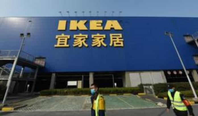 IKEA shopfront in Hangzhou, China