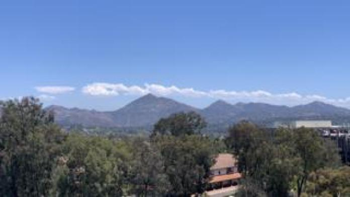 A view of southern Californian countryside