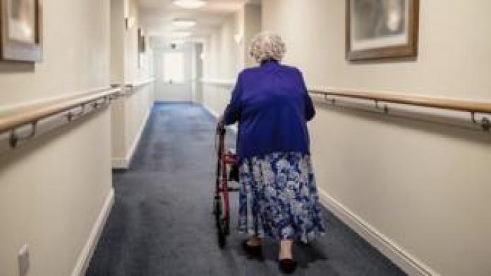 woman corridor