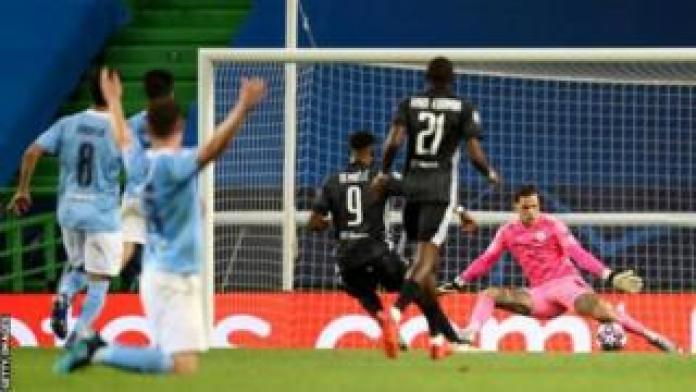 Four of the seven goals scored by Moussa Dembele in the Champions League were against Manchester City