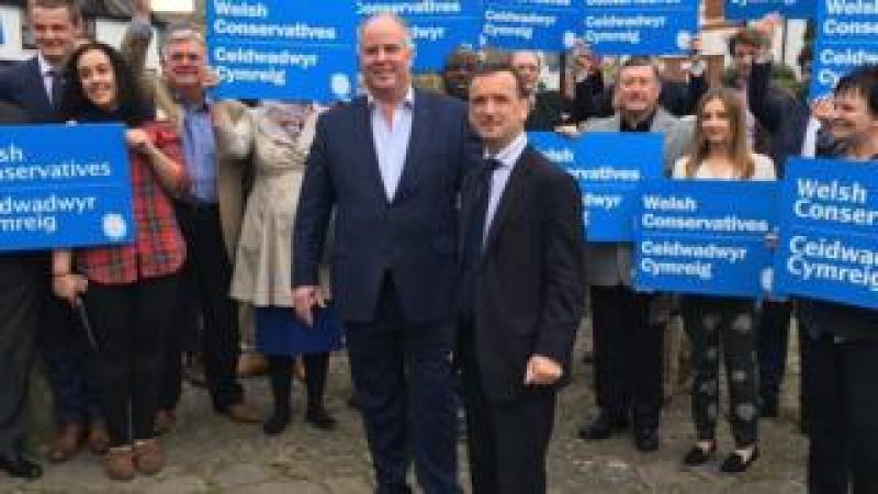 Welsh Conservative campaign launch