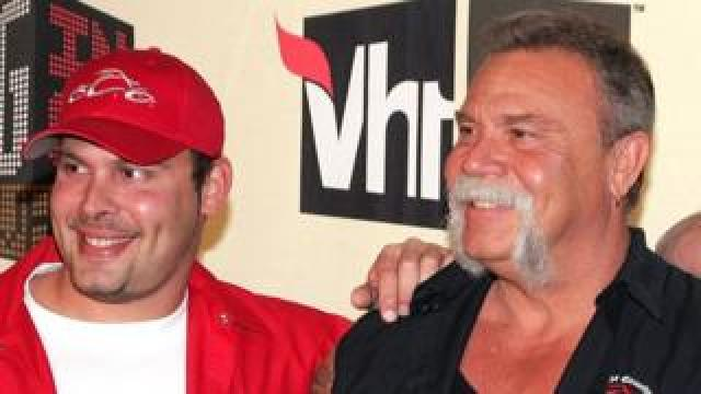 Paul Teutul Jr (left) and Paul Teutul