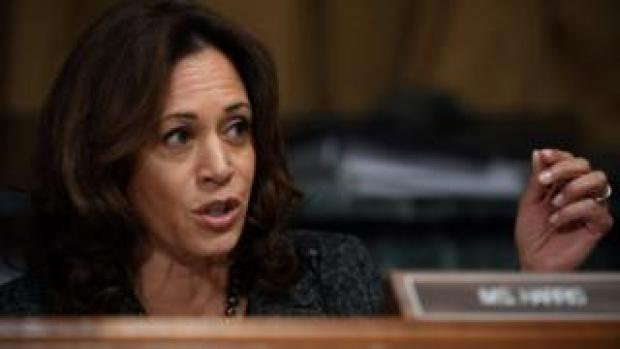 File photo: Senator Kamala Harris