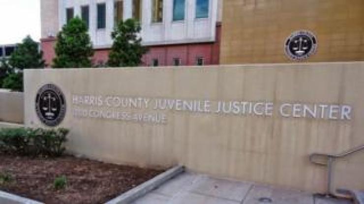 External shot of Harris County Juvenile Justice Center