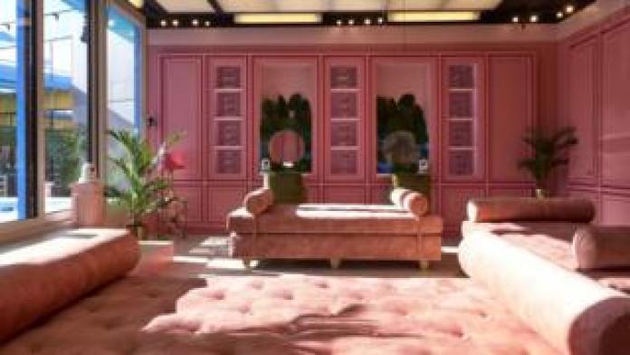 The pink glam room in the Celebrity Big Brother 2018 house